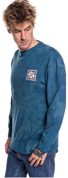 Quiksilver Mikina Volcanic Ocean Crew Tapestry EQYFT03845-BPH0 M