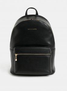 Černý kožený batoh Smith & Canova