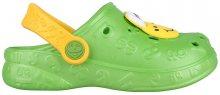 Coqui Dětské pantofle Hoppa 9381 Lime 102207 28-29
