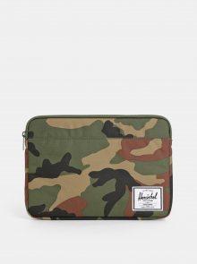 Zelený maskáčový obal na notebook Herschel Supply 13\
