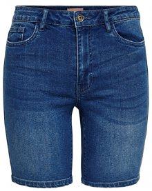ONLY Dámské kraťasy Corin Midwaist Dnm Shorts Mox Bj Medium Blue Denim 29