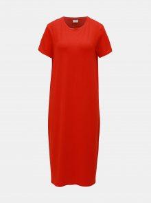 Červené basic šaty VERO MODA AWARE Gava