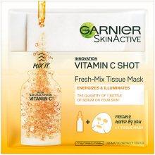 Garnier Textilní maska s vitamínem C pro hydratovanou a zářivou pleť Fresh Mix (Tissue Mask) 33 g