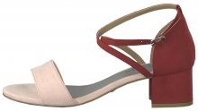 Tamaris Dámské sandále 1-1-28237-22-643 Powder/Lipstick 37