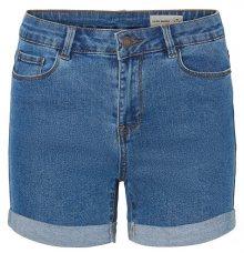 Vero Moda Dámské kraťasy Hot Seven Nw Dnm Fold Shorts Mix Noos Medium Blue Denim XS