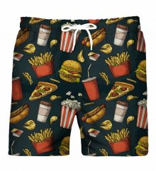 Fast Food Swim Shorts