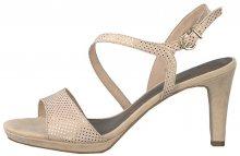 Tamaris Dámské sandále 1-1-28318-22-967 Rose Dots 37