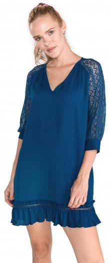 Šaty Trussardi Jeans | Modrá | Dámské | 46