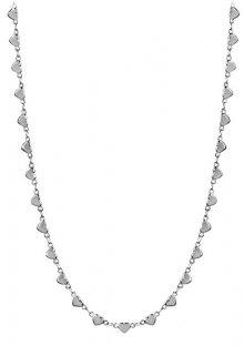 Troli Srdíčkový ocelový náhrdelník