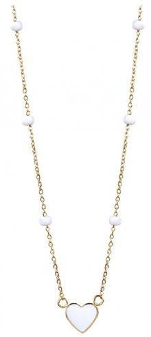 Morellato Pozlacený náhrdelník se srdíčkem Enjoy SAJE29