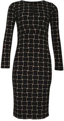 Smashed Lemon Dámské šaty Black/Creme 18597 S