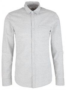 Q/S designed by Pánská košile 44.899.21.8207.94W0 Light Grey Melange S