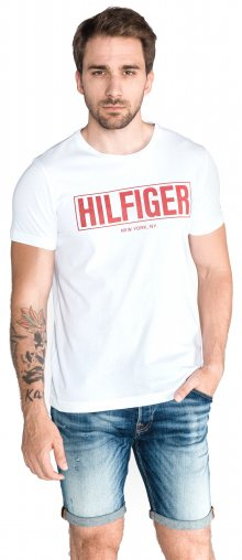 Triko Tommy Hilfiger | Bílá | Pánské | L