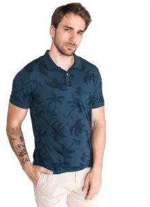 Allover Palm Polo triko Tommy Hilfiger | Modrá | Pánské | L