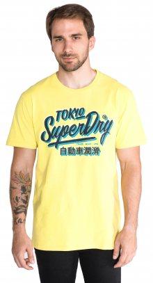 Triko SuperDry   Žlutá   Pánské   S