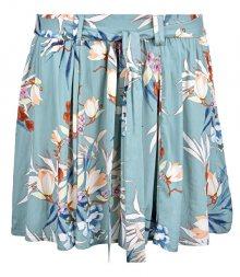ONLY Dámská sukně Nova Skater Skirt Aop W.Belt 5 Wvn Kentucky Blue 38