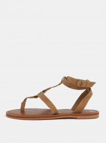 Hnědé sandály Roxy Soria