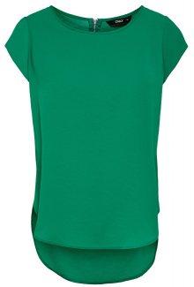 ONLY Dámská halenka Vic S/S Solid Top Noos Wvn Ultramarine Green 40