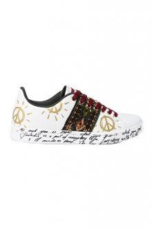 Desigual Dámské tenisky Shoes Cosmic Exotic Blanco 19WSKP20 1000 37