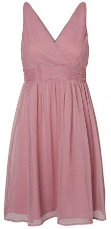 Vero Moda Dámské šaty Josephine Sl Above Knee Dress Color Foxglove M