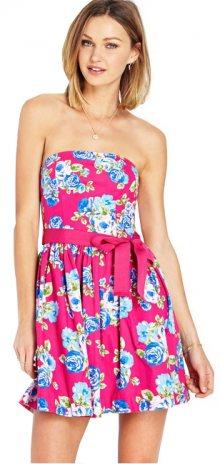 Forever 21 Dámské šaty Garden Party Tube Dress-růžová L