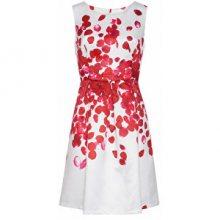 Smashed Lemon Dámské krátké šaty Red 18073/04 L