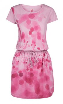LOAP Dámské šaty Bubba Sweet Lilac CLW1860-J79J S