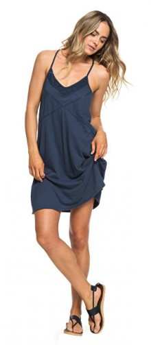 Roxy Dámské šaty New Lease Of Life Dress Blues ERJKD03236-BTK0 XS