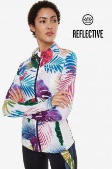 Desigual barevná sportovní běžecká bunda Running Jacket Bio Patching - L