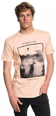 Quiksilver Triko Wave Party Ss Peach Parfait EQYZT04948-MEF0 XL