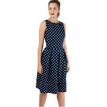 Closet London Dámské šaty Closet Hackney Dress Navy M
