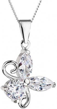 Preciosa Stříbrný náhrdelník s třpytivým přívěskem Wonderful 5068 00