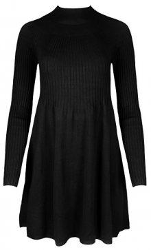 Vero Moda Dámské šaty Norwalk New Glory Ls Dress Black XL