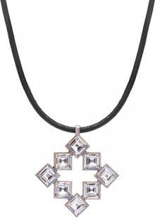 Preciosa Stylový náhrdelník s čirými krystaly Tereza 2332 00L