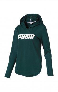 Modern Sports Mikina Puma   Zelená   Dámské   XL