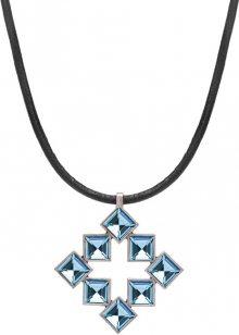 Preciosa Stylový náhrdelník s modrými krystaly Tereza 2332 67L