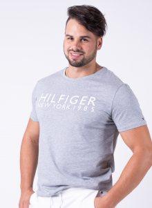 Pánské tričko Tommy Hilfiger UM0UM01172 L Sv. šedá