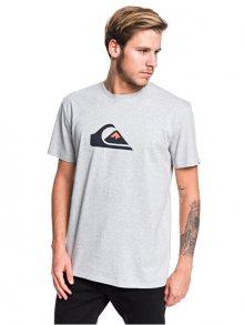 Quiksilver Pánské triko Comp Logo Ss Athletic Heather EQYZT05486-SGRH S