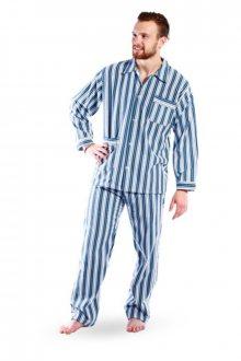 Flanelový pyžamový kabátek