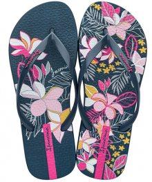 Ipanema Dámské žabky Botanicals Fem 82661-20108 Blue/Pink 38