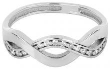 Brilio Silver Něžný stříbrný prsten 426 001 00425 04 - 1,92 g 52 mm