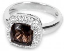 Silver Cat Stříbrný prsten s krystalem SC130 54 mm