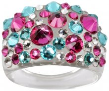 Troli Prsten Bubble Pink/Turquois 50 mm