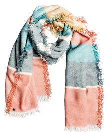 Roxy Dámský šátek Look Inkward Snow White Retro Vertical ERJAA03644-WBK3