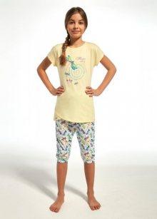 Cornette Kids Girl 251/68 Dragonfly Dívčí pyžamo 110-116 žlutá