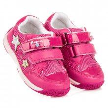 Úžasné růžové dívčí tenisky s hvězdičkami