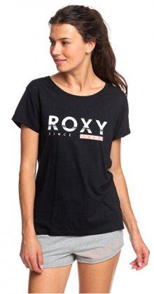 Roxy Dámské triko Tell Me Baby A True Black ERJZT04687-KVJ0 XS