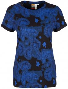 Q/S designed by Dámské triko 41.908.32.5430.99A1 Black/Royal Blue A XS