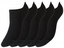 Vero Moda Sada ponožek VMALICE SNEAKER SOCKS - 5 PACK Black