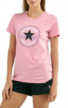 Converse Dámské triko Chuck Patch Nova Tee Coastal Pink XS
